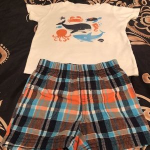 Little Boys Tee and Shirts By Carter's